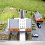 Moderne Tuinen - gefotografeerd met drone