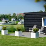 Wonen aan de Oude Rijn - Terras aan water