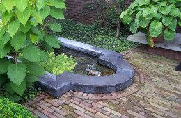 Kleine tuin in Gouda door Ernst Baas Hoveniers