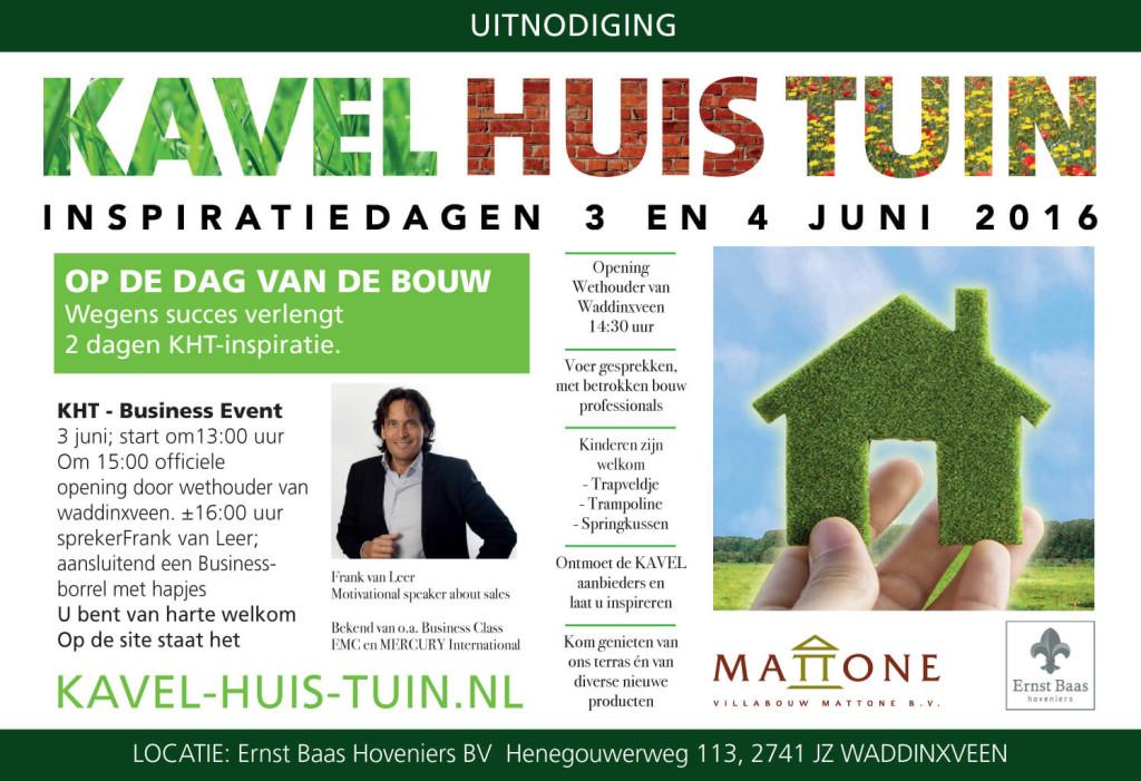 Inspiratiedag kavel huis en tuin ernst baas for Kavel en huis magazine