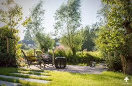 Middelgrote tuin in Gouda door Ernst Baas Hoveniers