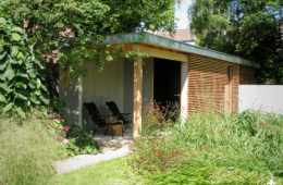 Luxe tuinhuis en berging