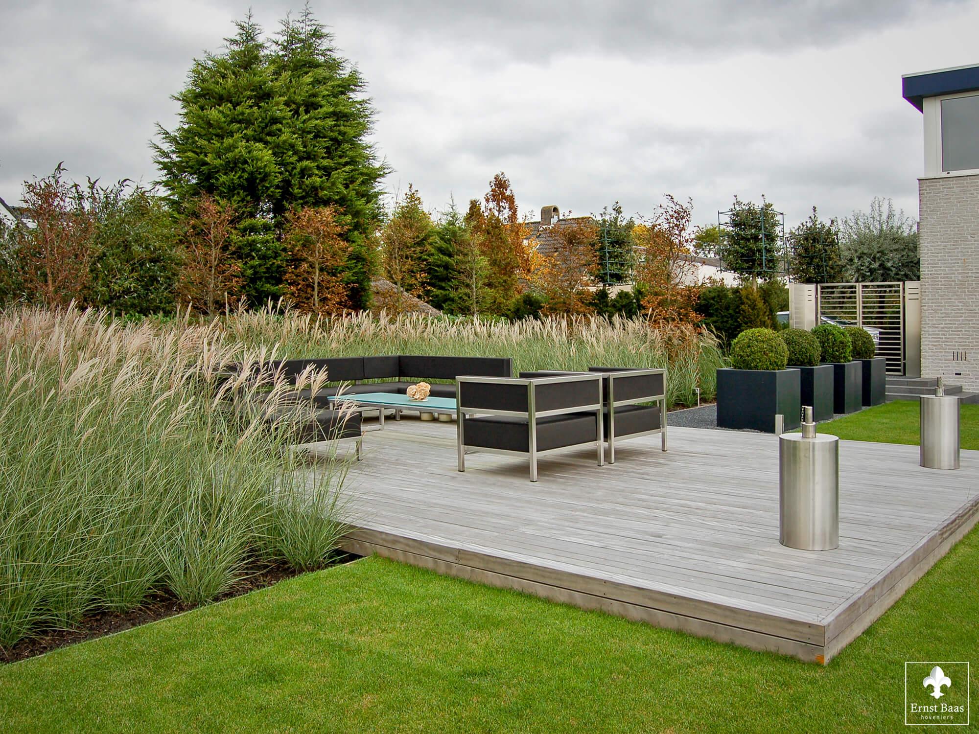 Grote Moderne Tuin : Grote tuinen kleine tuinen ernst baas hoveniersbedrijf in