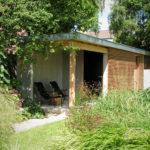 Luxe tuinen - Red Ceder tuinhuis