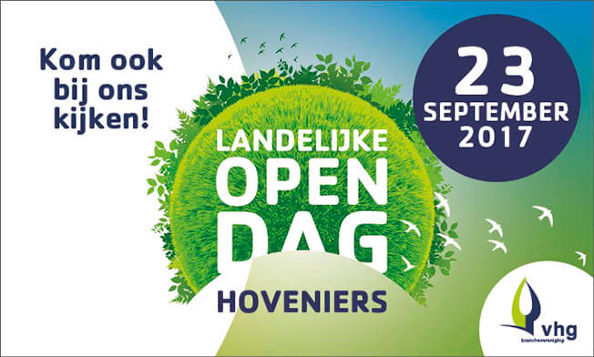 23 september 2017 - Open dag Hoveniers