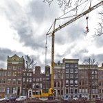 Bebouwing met ruime achtertuin - Keizersgracht Amsterdam
