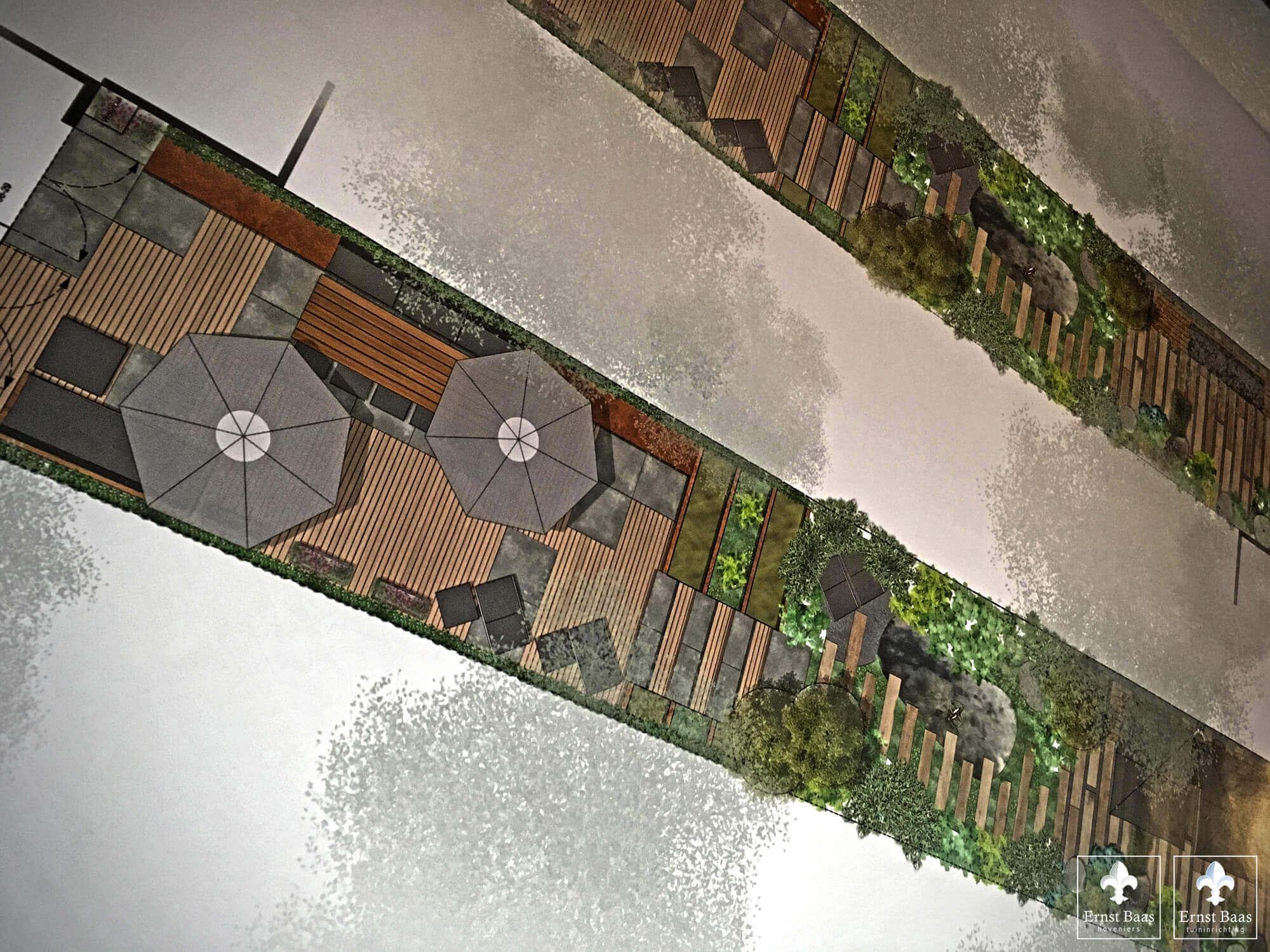 Tuinontwerp - Tuindesign Keizersgracht Amsterdam