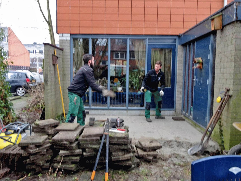 Tuin renoveren met stichting present gouda ernst baas for Tuin renoveren